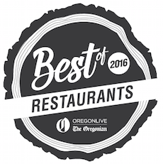 Coquine awarded Portland's 2016 Restaurant of the Year award