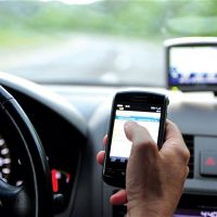 Driving with a Device